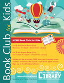Book Club for Kids at Redwood City Public Library