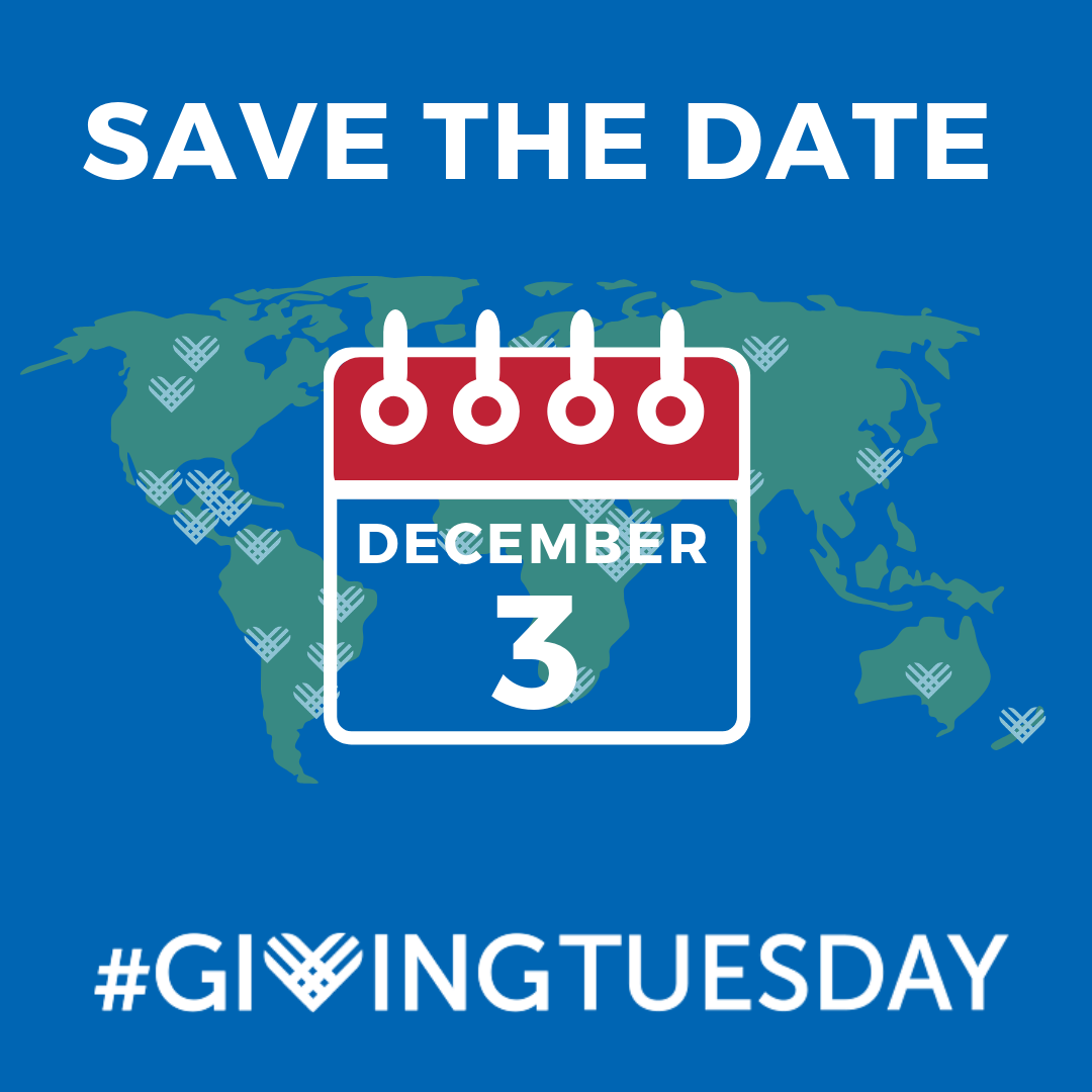 Save the Date Dec 3 Giving Tuesday