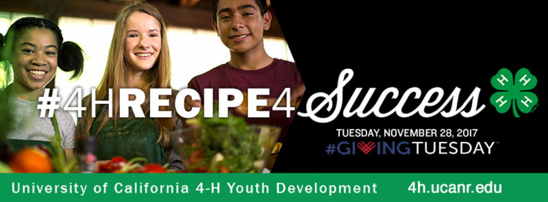 #GivingTuesday for 4-H