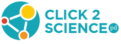 Click2Science logo