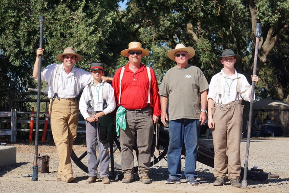 Western Heritage volunteers