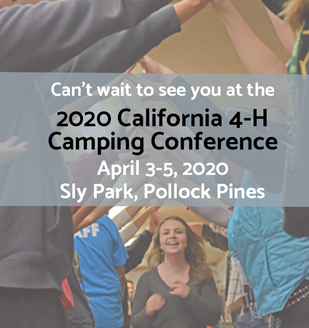 2020 Camping Conference Apr 3-5 at Sly Park