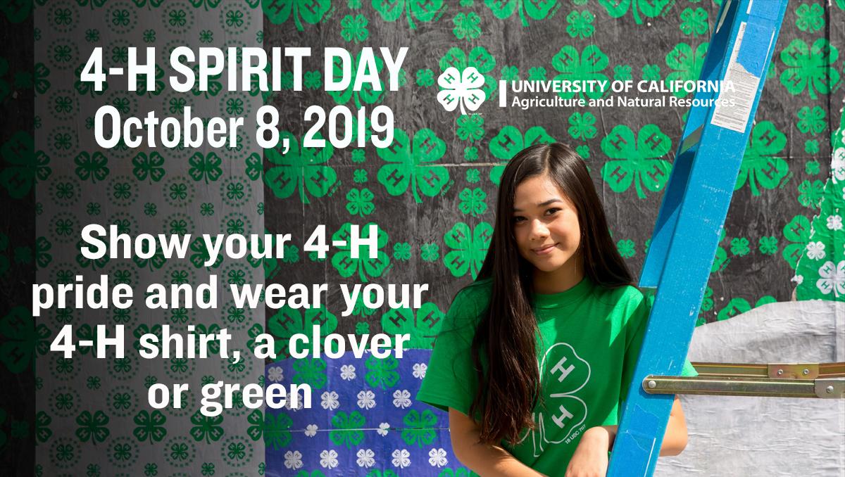 4-H Spirit Day 2019