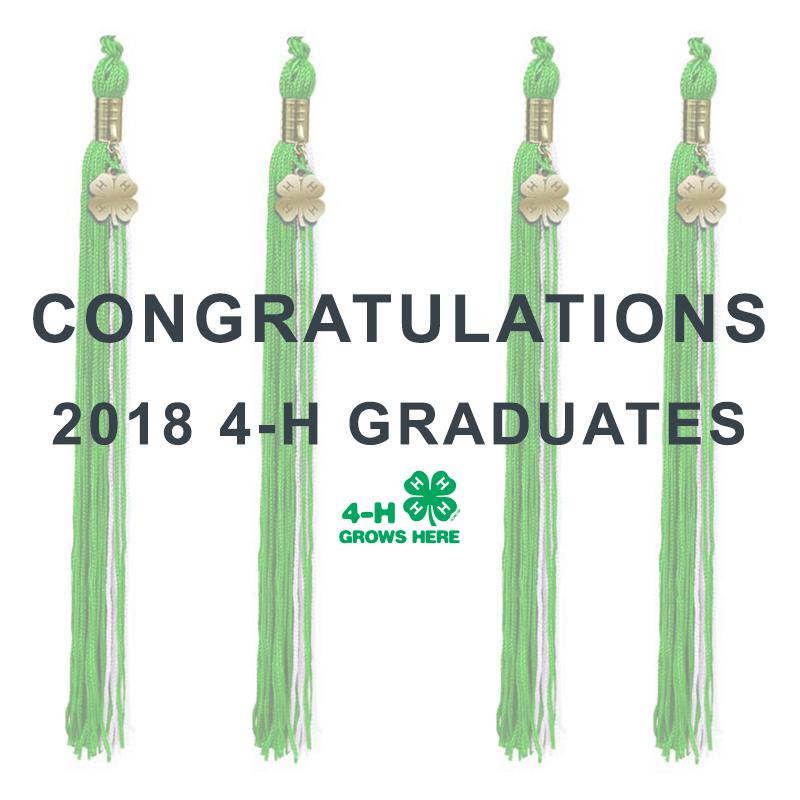 2018 4-H Graduates