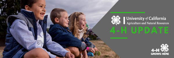 California 4-H Update newsletter header