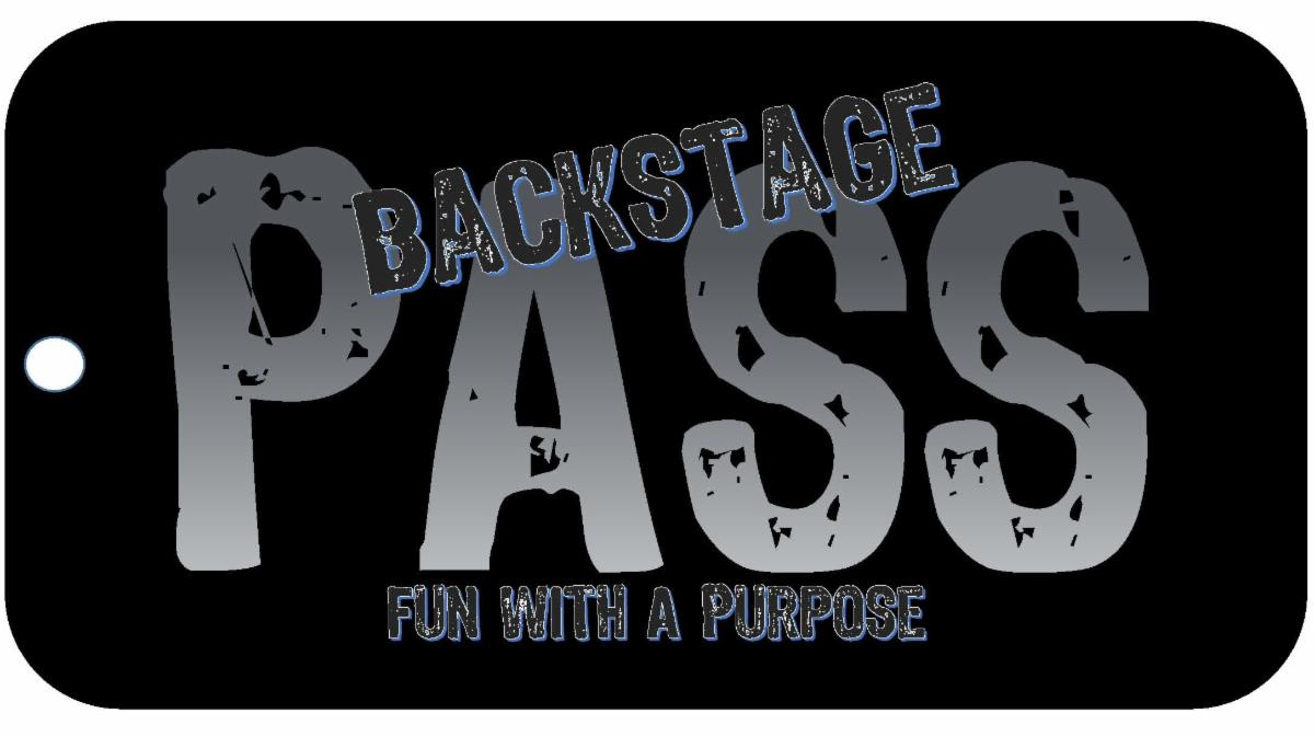 Backstage Pass-Fun with a Purpose logo