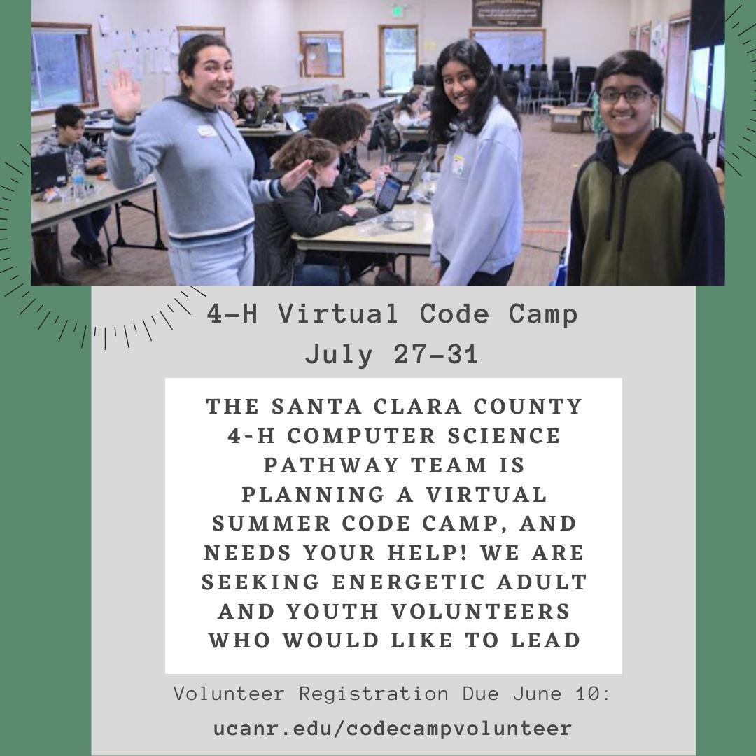 Code Camp flyer
