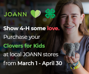 JOANN clovers for kids campaign