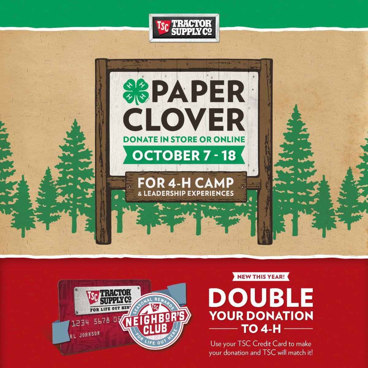 Fall Paper Clover 2020