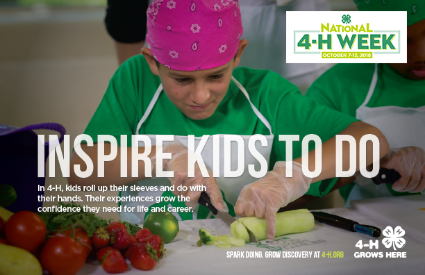 National 4-H Week ad