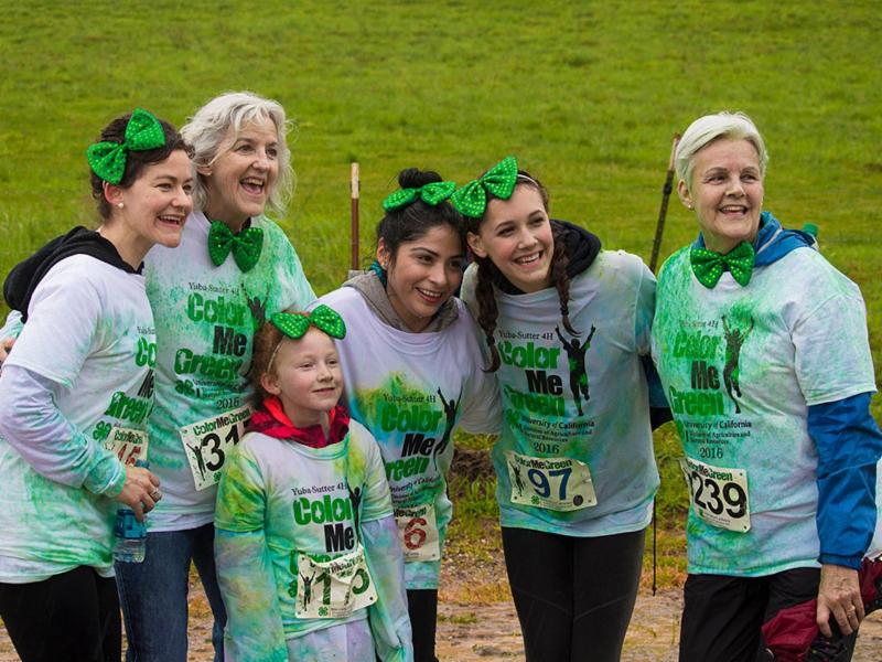 Color Me Green 5K Run