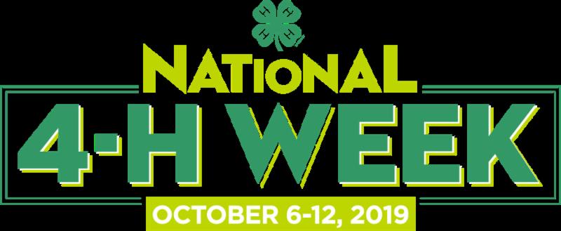 2019 National 4-H Week