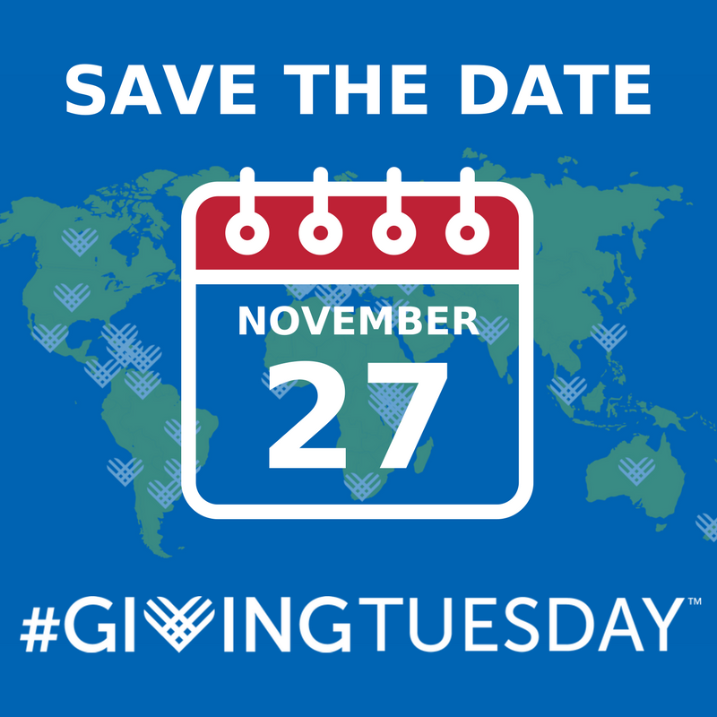 Save the Date #GivingTuesday Nov 27