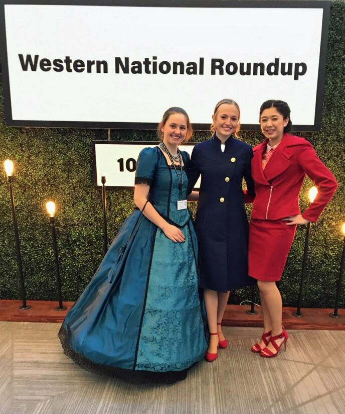 Fashion Revue-Western Natl Roundup