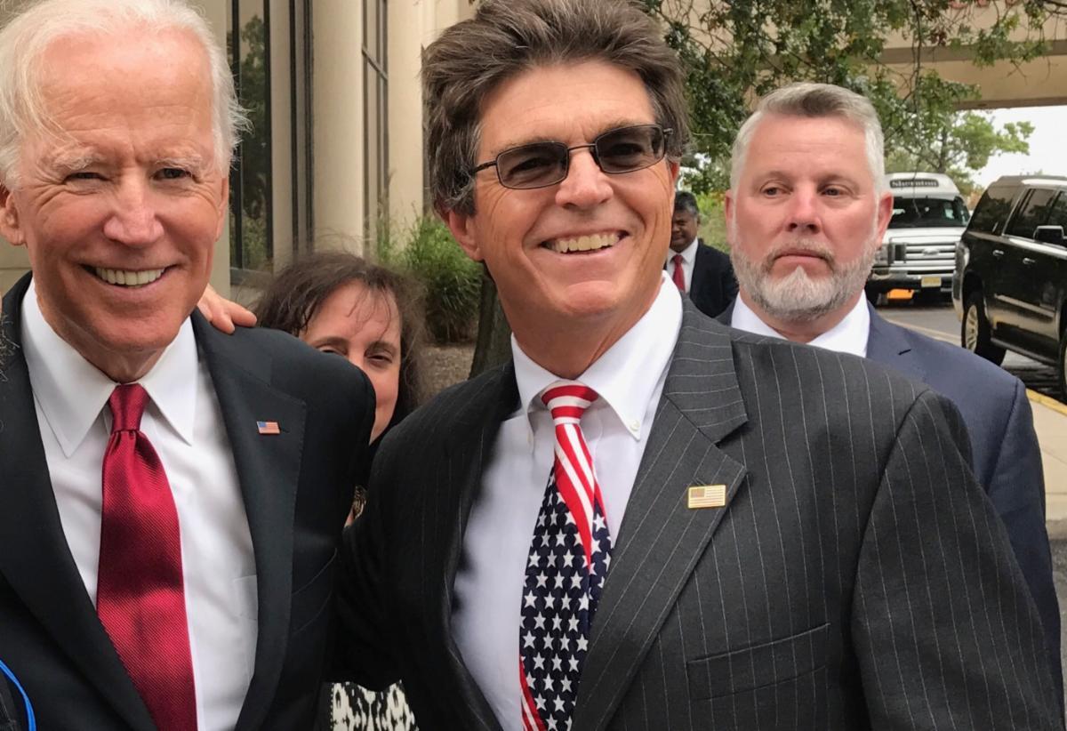 Joe Biden & Ken Vercammen