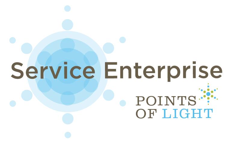 Service Enterprise_ Points of Light logos