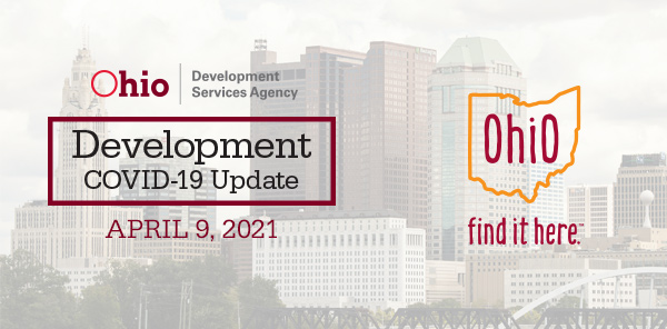 Development Covid-19 Update April 9 2021