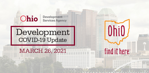Development Covid-19 Update March 26 2021