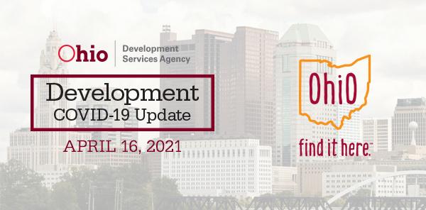 Development Covid-19 Update April 16 2021