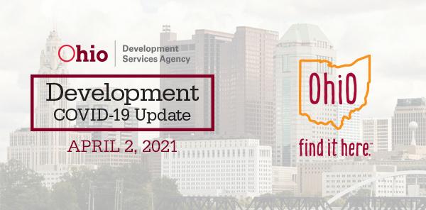 Development Covid-19 Update April 2 2021