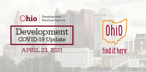 Development Covid-19 Update April 23 2021