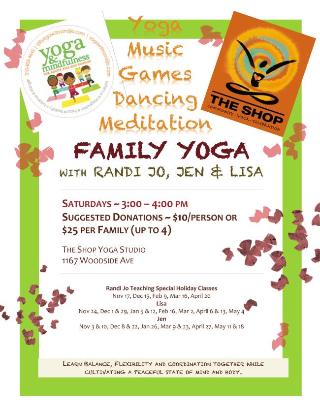 Family Yoga Saturday!