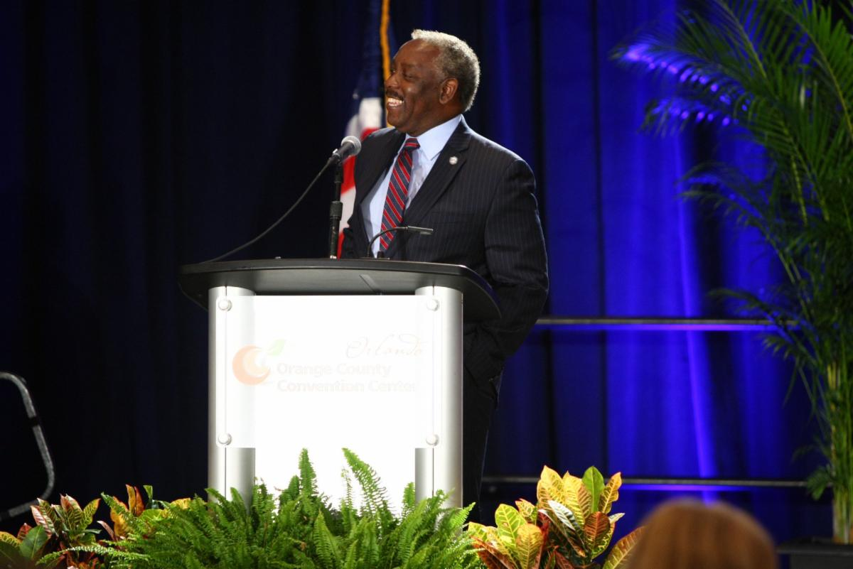 Mayor Jerry Demings at the Simulation Summit 2019