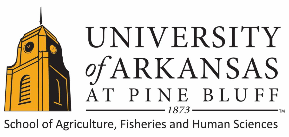 University of Arkansas at Pine Bluff School of Agriculture, Fisheries and Human Sciences logo.