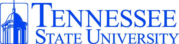 Tennessee State University logo.