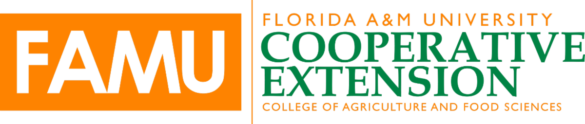 Florida A&M University Cooperative Extension College of Agriculture and Food Sciences logo.