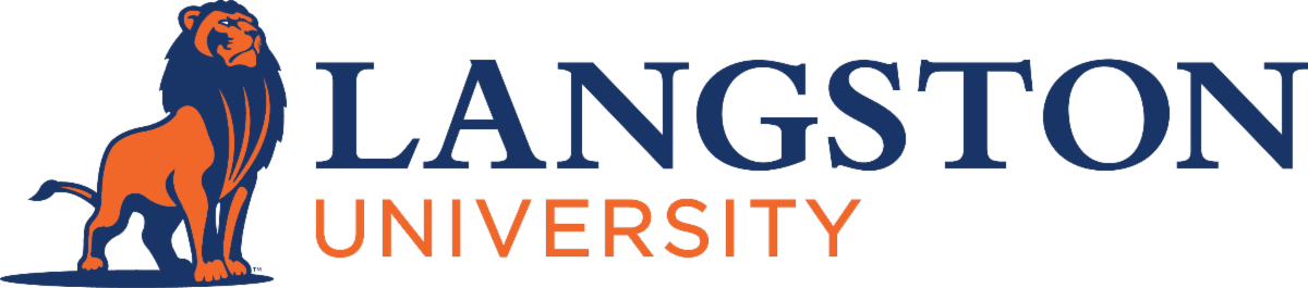 Langston University logo
