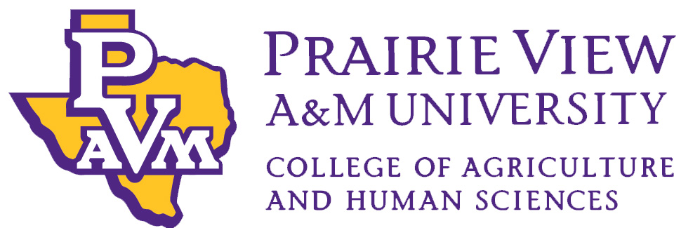 Prairie View A&M University College of Agriculture and Human Sciences logo.