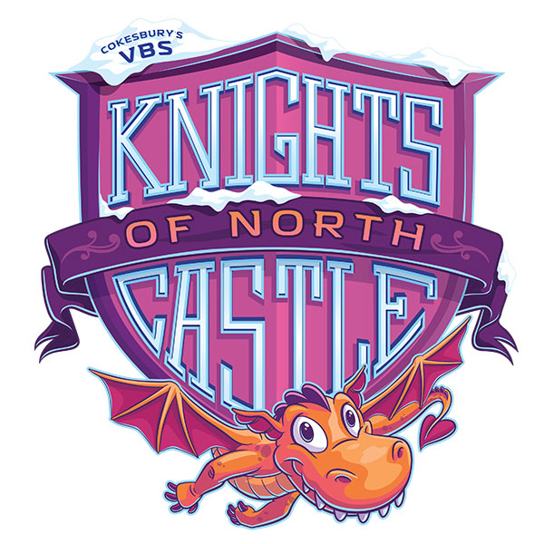 2021 VBS Knights of the North Castle Logo