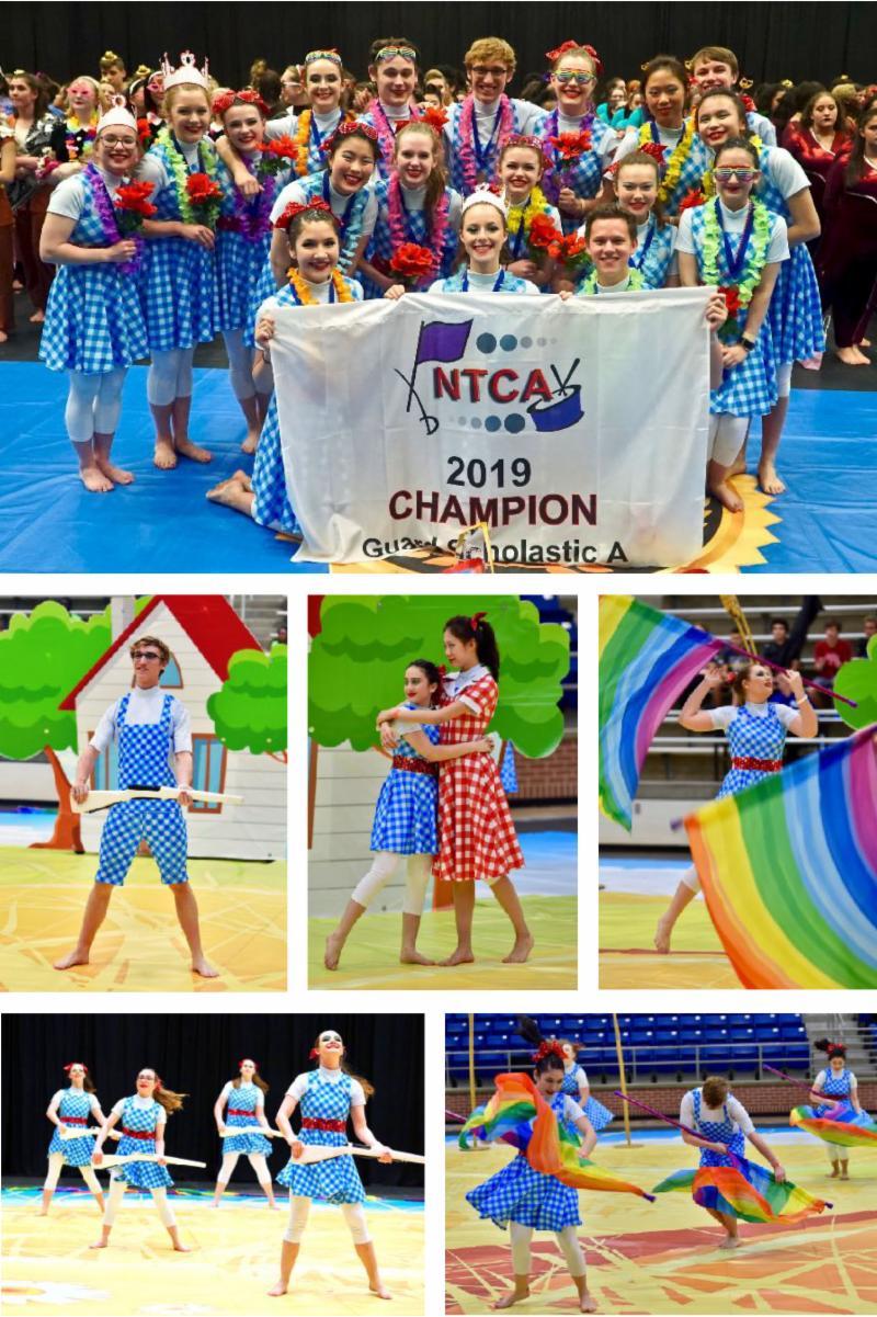 HPHS WinterGuard Grand Champions