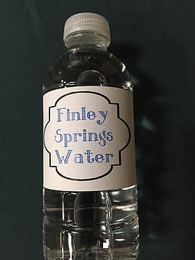 Finley Springs Water
