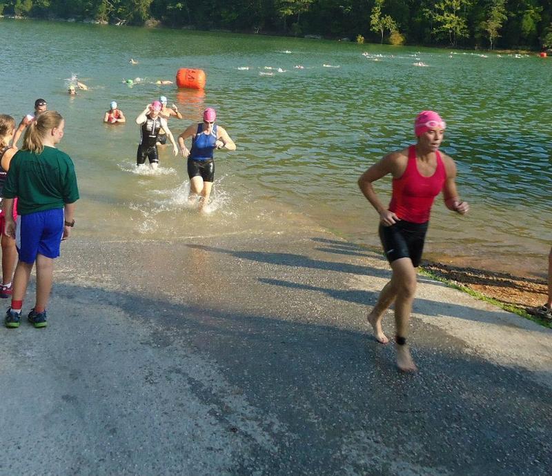 XTERRA Swim Finish Rev 3 Ironman