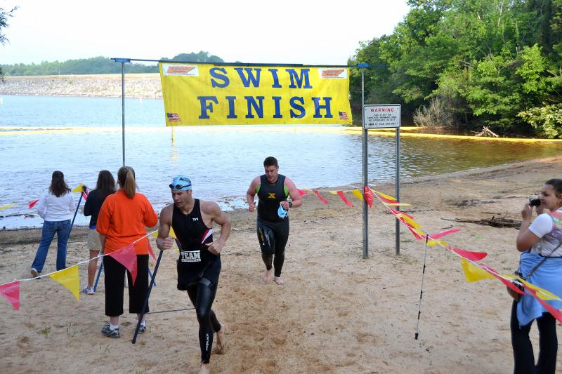 Hammer Swim Finish