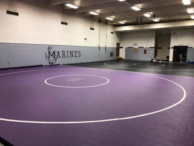 Marinette Wrestling room