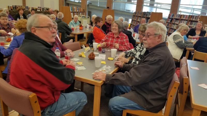 Senior Citizen's enjoying the time here in the LMC.