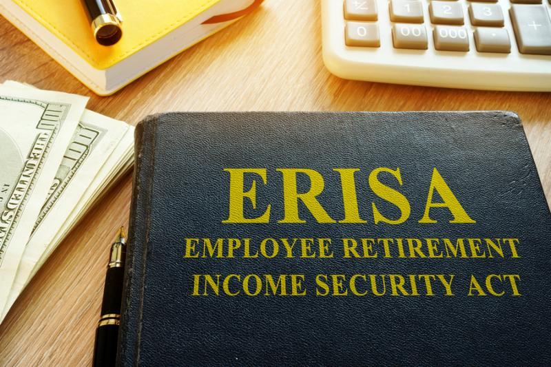 Employee Retirement Income Security Act ERISA and calculator.