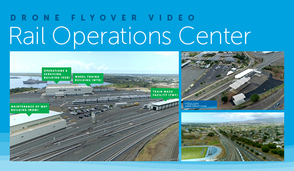 Drone Flyover Video - Rail Operations Center --- Click here to watch the video