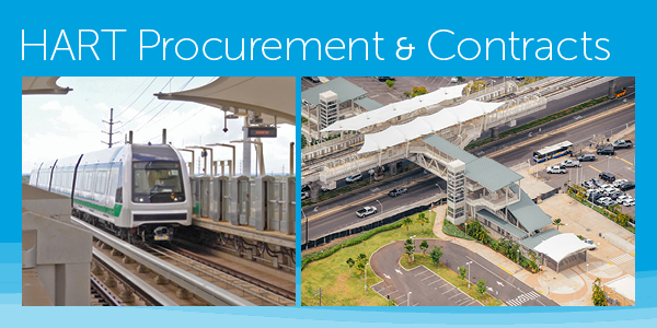 HART Procurement and Contracts - Click here for full details