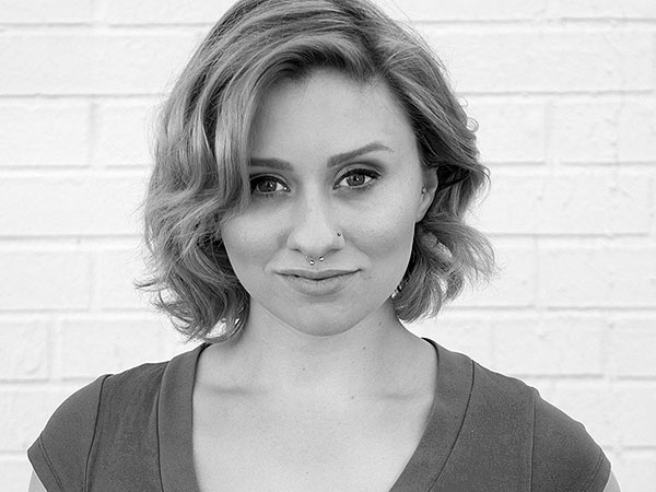 Caity-Shea Violette is a member of The Voices and Faces Project's speaking team.