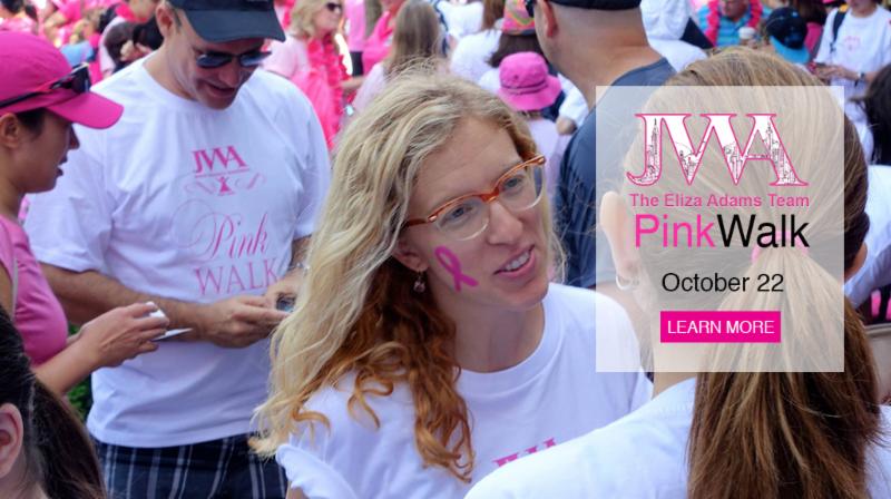 JWA Pink Walk - October 22nd!