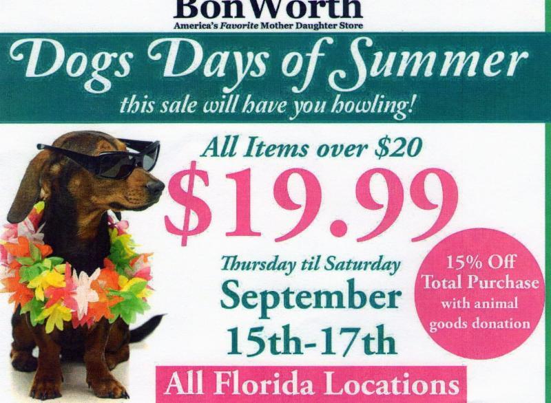 Bonworth Store Closings