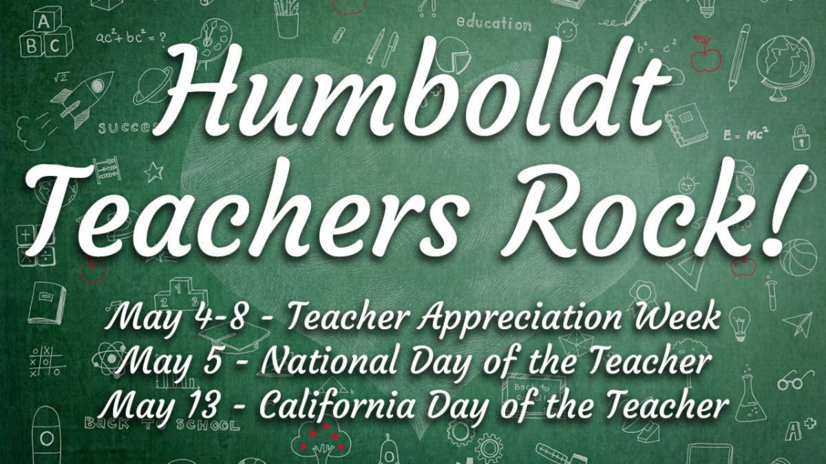 Humboldt Teachers Rock!