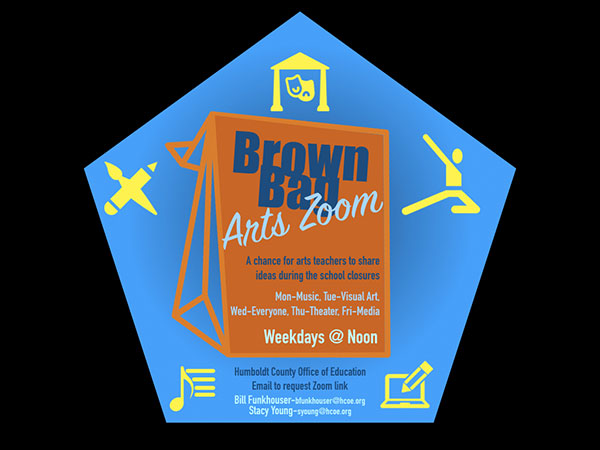 Brown Bag Arts Zoom Series