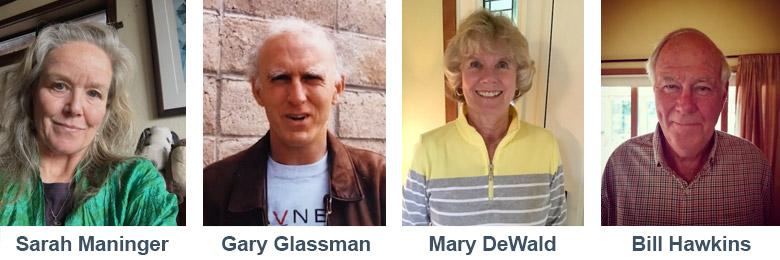 The four Jean Olson Award winners