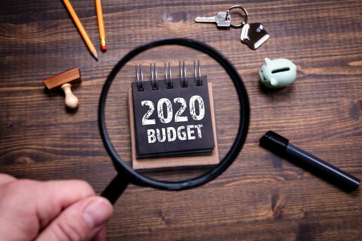 2020 Budget Graphic