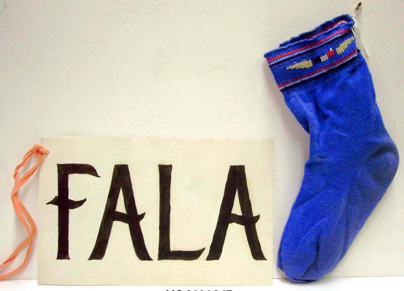 Fala's Christmas Stocking